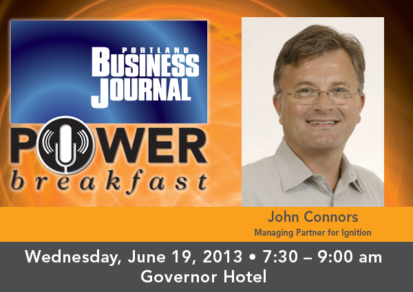 Portland Business Journal Power Breakfast @ The Governor Hotel | Portland | Oregon | United States