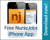 NurseJobs iPhone app