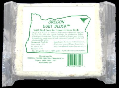 oregon suet block