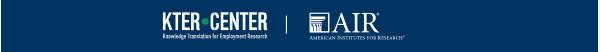 The KTER Center at AIR logo