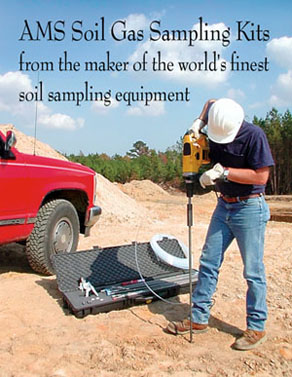 AMS Soil Vapor Kit used at site