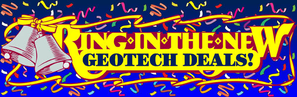 Ring-In the New Geotech Deals