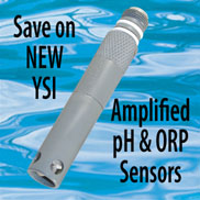 New amplified pH & ORP Sensors