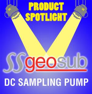SS Geosub DC Sampling Pump