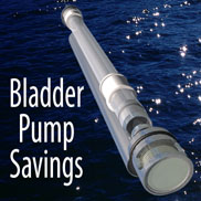 Bladder Pump Savings