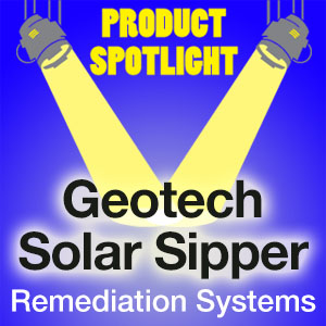 Geotech Solar Sipper Remediation Systems