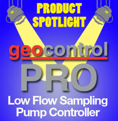 Geocontrol Pro Low Flow Sampling Pump Controller