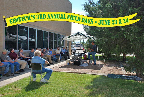 Geotech 3rd Annual Field Days