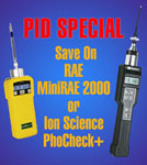 PID Special on MiniRAE 2000 & PhoCheck+
