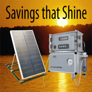 Savings that Shine