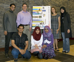Geotech's new interns from Oman