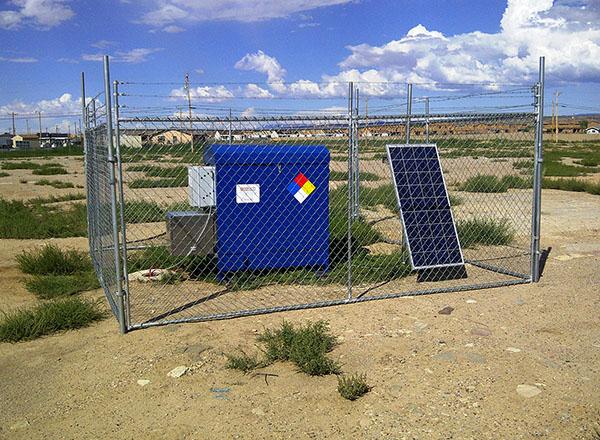 Solar Sipper installation in Arizona