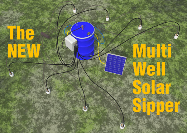 Multi-Well Solar Sipper Scene