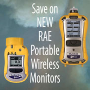 New RAE wireless portable monitors