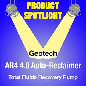 Geotech 4.0 Auto-Reclaimer Spotlight