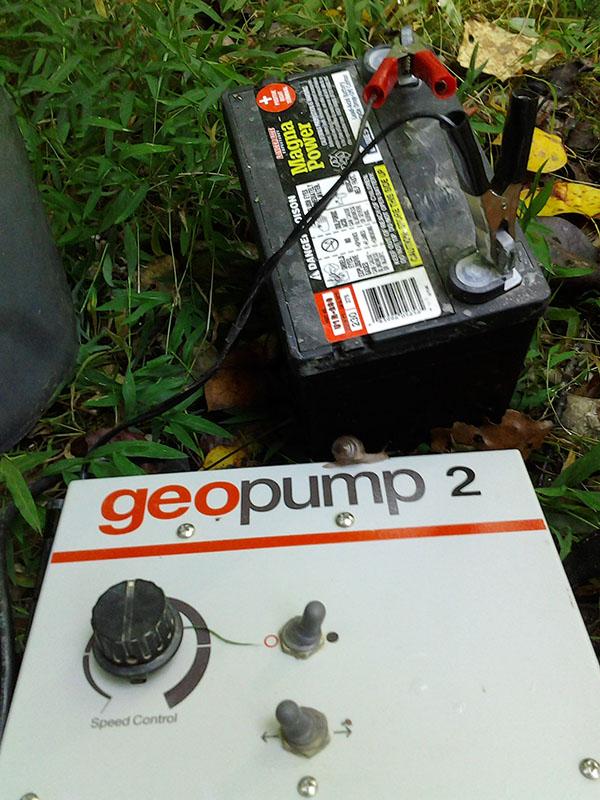 Geopump Visitor