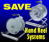 Save on hand-reel systems