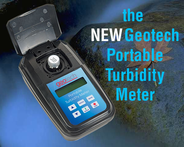 The New Geotech Portable Turbidity Meter