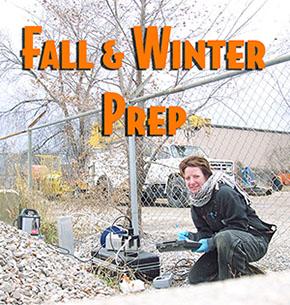 Fall Prep