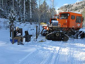 Snow Cat transportation