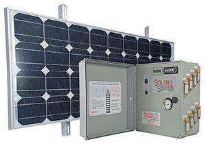 Solar Sipper Controller & Solar Panel