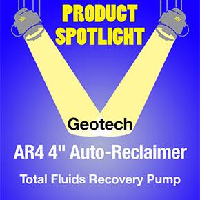Produvt Spotlight Geotech AR4 Auto-Reclaimer