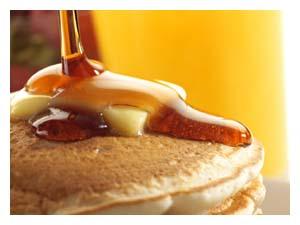 Wakarusa Maple Syrup pancake