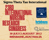 23rd International Nursing Research Congress