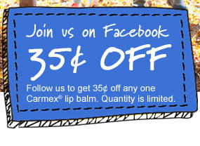 Join Us on Facebook - $0.35 OFF