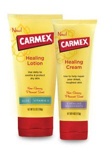 Carmex Healing Lotion & Healing Cream