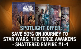 Save 50% on Star Wars: Shattered Empire!