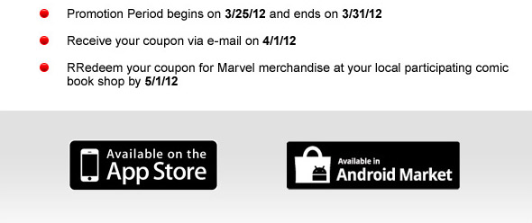 Buy Marvel Digital Comics & Get a $5 Coupon