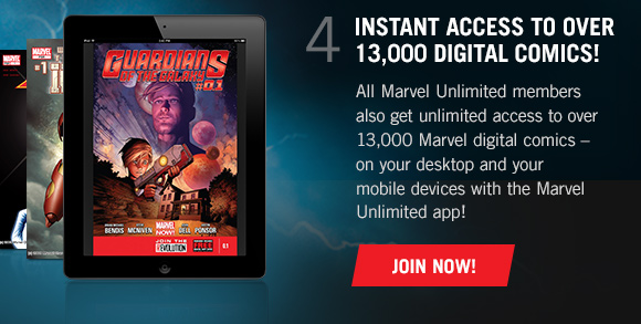 4) Instant Access to over 13,000 Digital Comics!