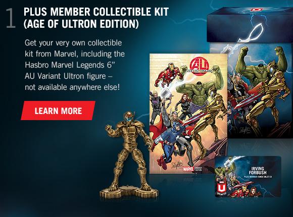 1) Plus Member Collectible Kit