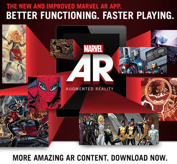 New and Improved Marvel AR
