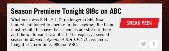 Marvel's Agents of S.H.I.E.L.D. Returns!