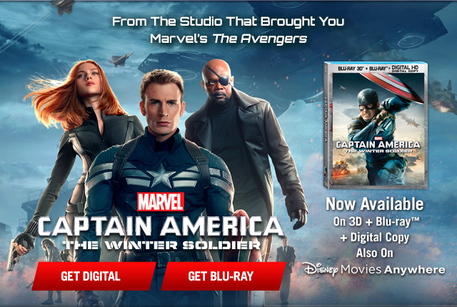 Captain America: The Winter Soldier Available Now!