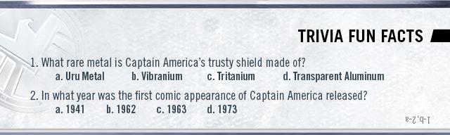 Captain America Trivia