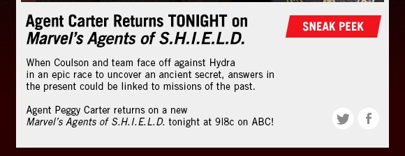 Marvel's Agents of S.H.I.E.L.D.!