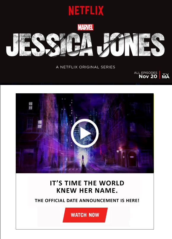 Marvel's Jessica Jones - Only On Netflix