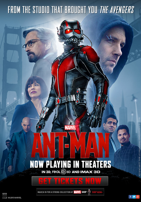 Marvel's Ant-Man - Now In Theaters!
