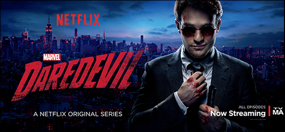 Marvel's Daredevil on Netflix - Now Streaming!