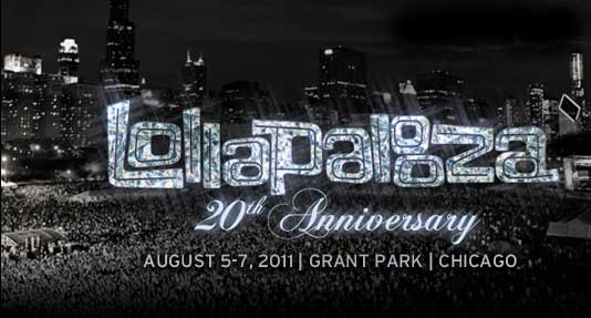 Lollapalooza - 20th Anniversary - August 5-7, 2011, Grant Park, Chicago