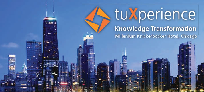 tuXperience - Knowledge Transformation - Millenium Knickerbocker Hotel, Chicago