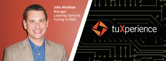 JOHN HINDMAN MANAGER OF LEARNING SERVICES | TUXPERIENCE 2014
