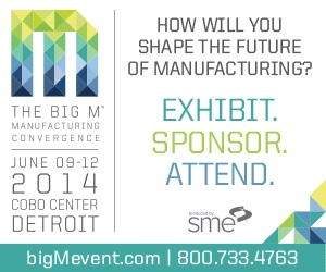 The Big M Event June 9-12, 2014, Cobo Center, Detroit, MI