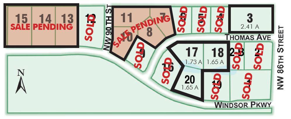 windsor office park updated map