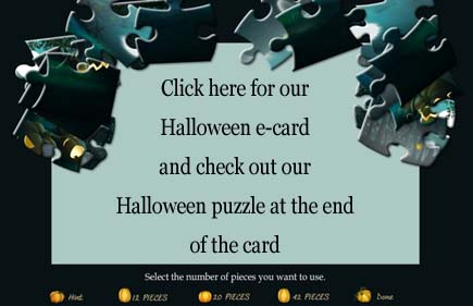 halloween puzzle and ecard link