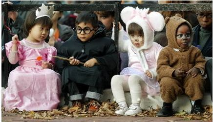 halloween toddlers