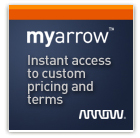 MyArrow: Instant access to custom pricing and terms